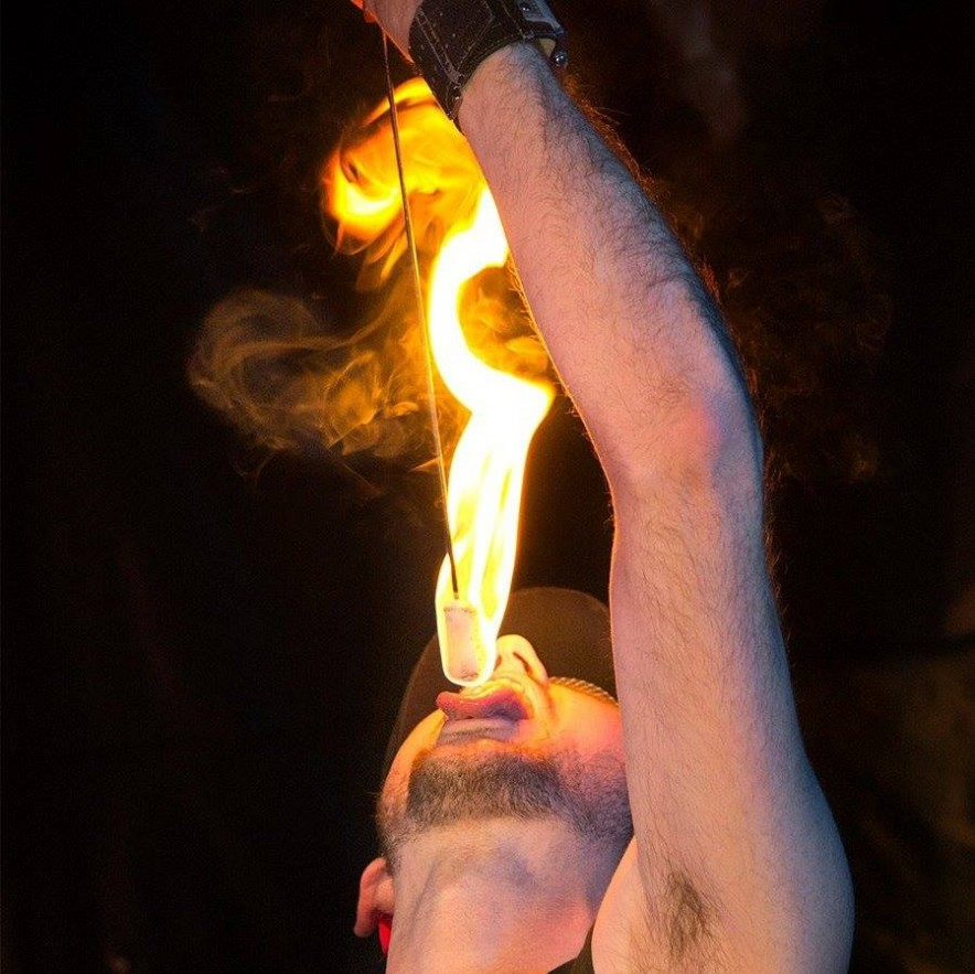 fire eater, fire, sideshow, fire performer, sbc, shreveport, talent agency, entertainment, entertainers, ark-la-tex, events, corporate, private event, special event